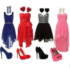 Select Your Shoes to Your Dress