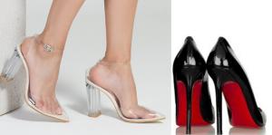 high heel shoes models
